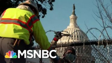 FBI Investigating Whether Foreign Groups Funded Extremists Who Executed Capitol Attack | MSNBC 6