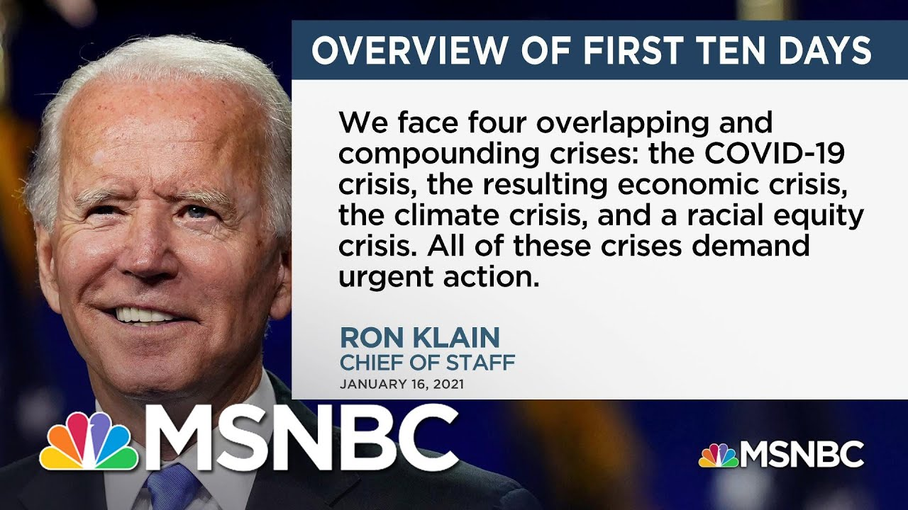 Biden's Ambitious Agenda: Dozens Of Executive Orders Planned For First 10 Days | MSNBC 1