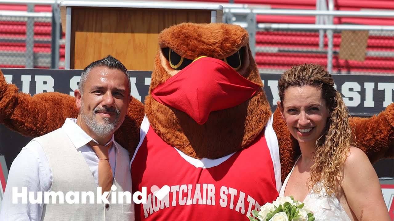 Homecoming king and queen wed 28 years later | Humankind 1