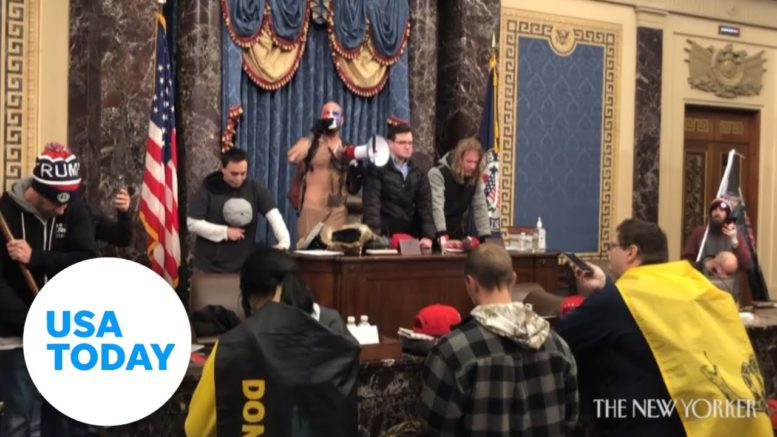 WARNING: Explicit language. Shocking video inside Capitol siege | USA TODAY 1