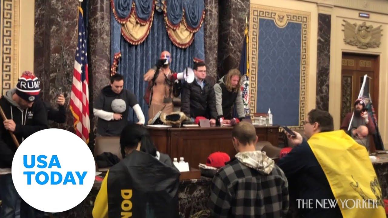 WARNING: Explicit language. Shocking video inside Capitol siege   USA TODAY 1