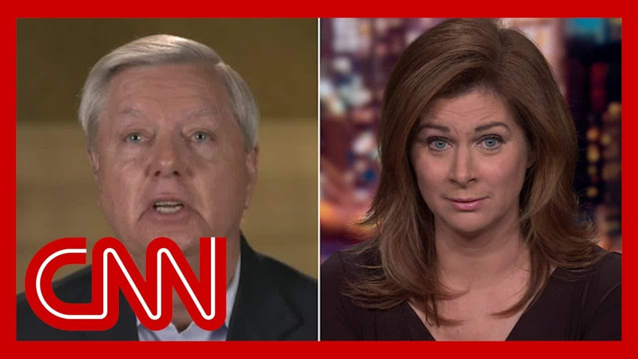 Burnett to Graham: Trump is trying to heal nation? He hasn't spoken once 1