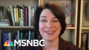 Klobuchar: You're Going To See A Peaceful Transfer Of Power At 12:01 On The 20th | Stephanie Ruhle 3