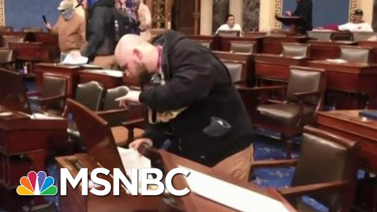 'Galvanizing Moment': How Domestic Extremists View January 6 | MTP Daily | MSNBC 1
