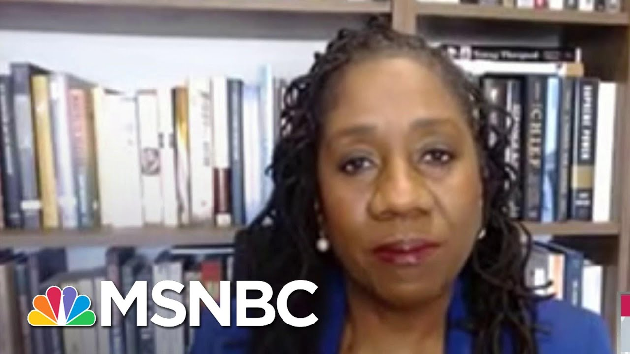 Sherrilyn Ifill: 'Exciting' That Kamala Harris Is Set To Make History   Andrea Mitchell   MSNBC 1