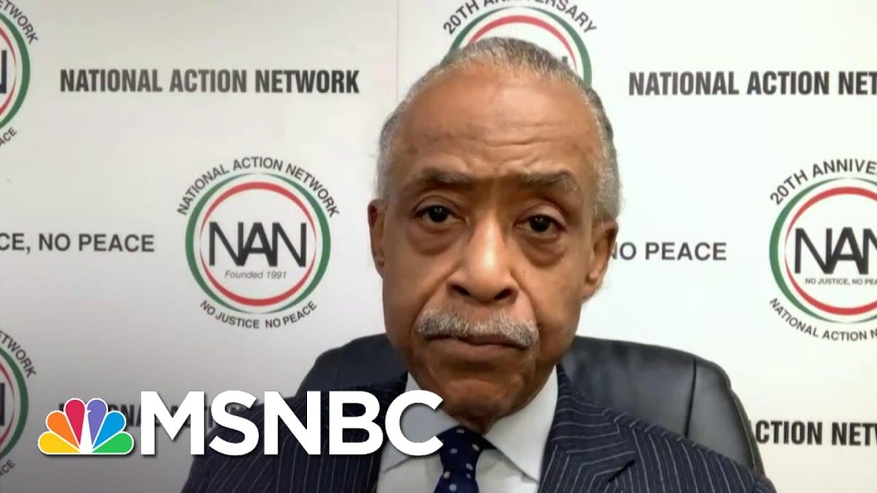 Sharpton: Members Of Law Enforcement Involved In Capitol Riot Is ' The Least Surprising Thing To Me' 1