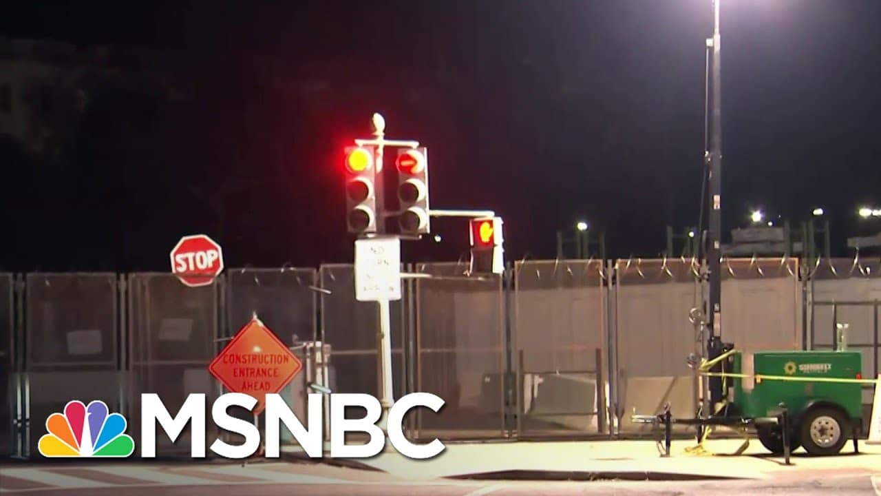 Razor Wire, 7 Foot Fence Surround Capitol As Security Concerns Soar Ahead Of Biden Inauguration 1