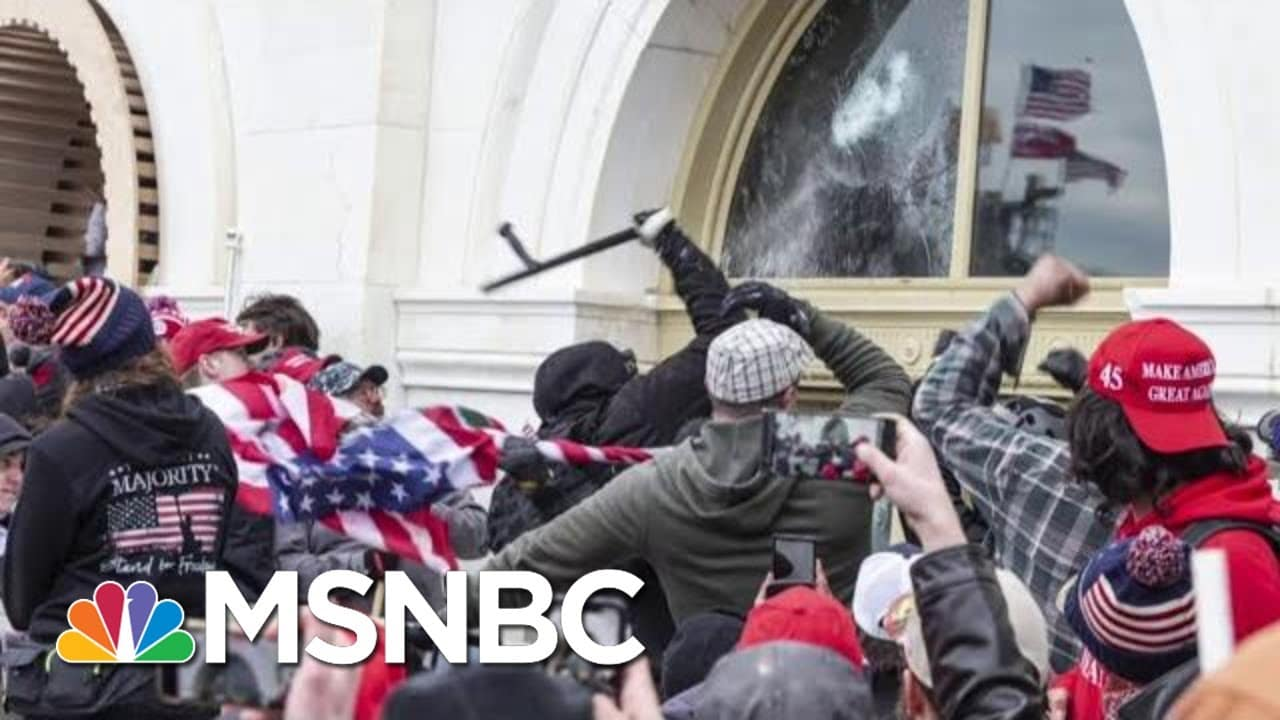 As Trump Leaves WH, New Evidence Highlights Republican Support For Capitol Siege 1