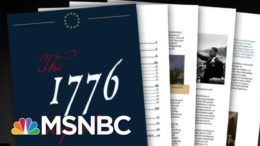 White House Releases '1776 Report' That Tries To Erase Legacy Of Slavery | All In | MSNBC 5