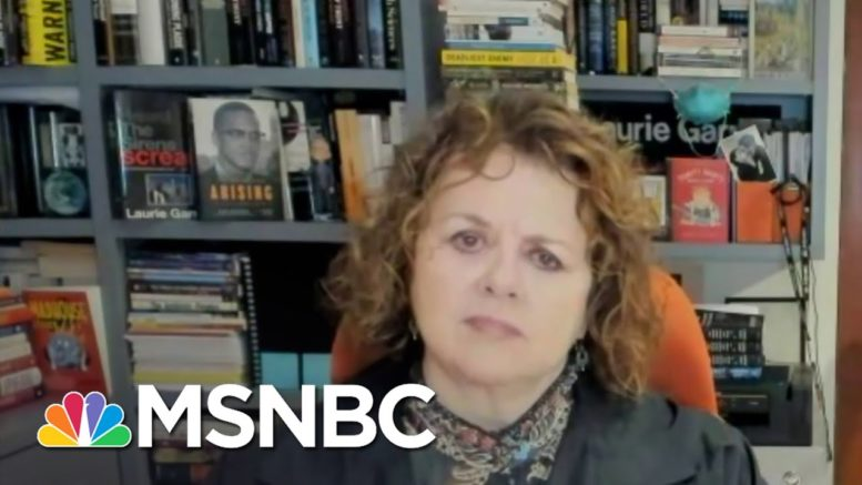 Laurie Garrett Is 'Terrified' Of The Covid Death Toll In The Coming Months   Deadline   MSNBC 1