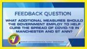 TVJ News: Feedback Question - January 15 2021 2