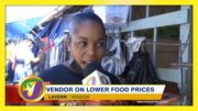 Vendor on Lower Food Prices in Jamaica - TVJ Bite of the Week - January 15 2021 2