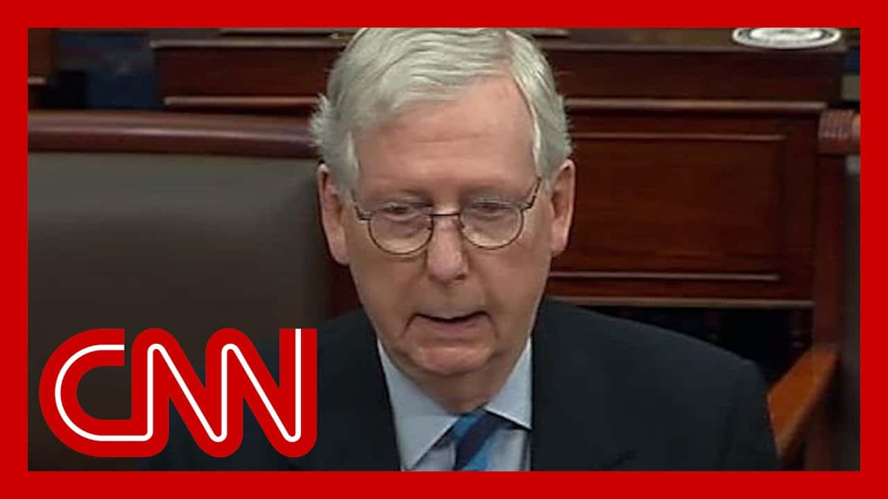 McConnell: Capitol Hill mob was 'provoked' by Trump 1