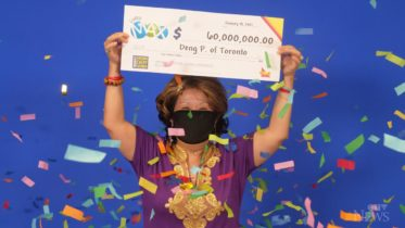 Ont. Woman wins jackpot with numbers her husband dreamt of 6
