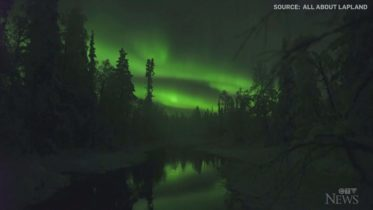 Watch: Stunning display of northern lights in Finland 5