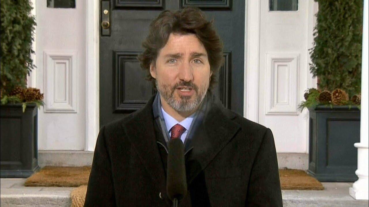 Trudeau addresses Pfizer delay, Keystone XL in COVID-19 update 1