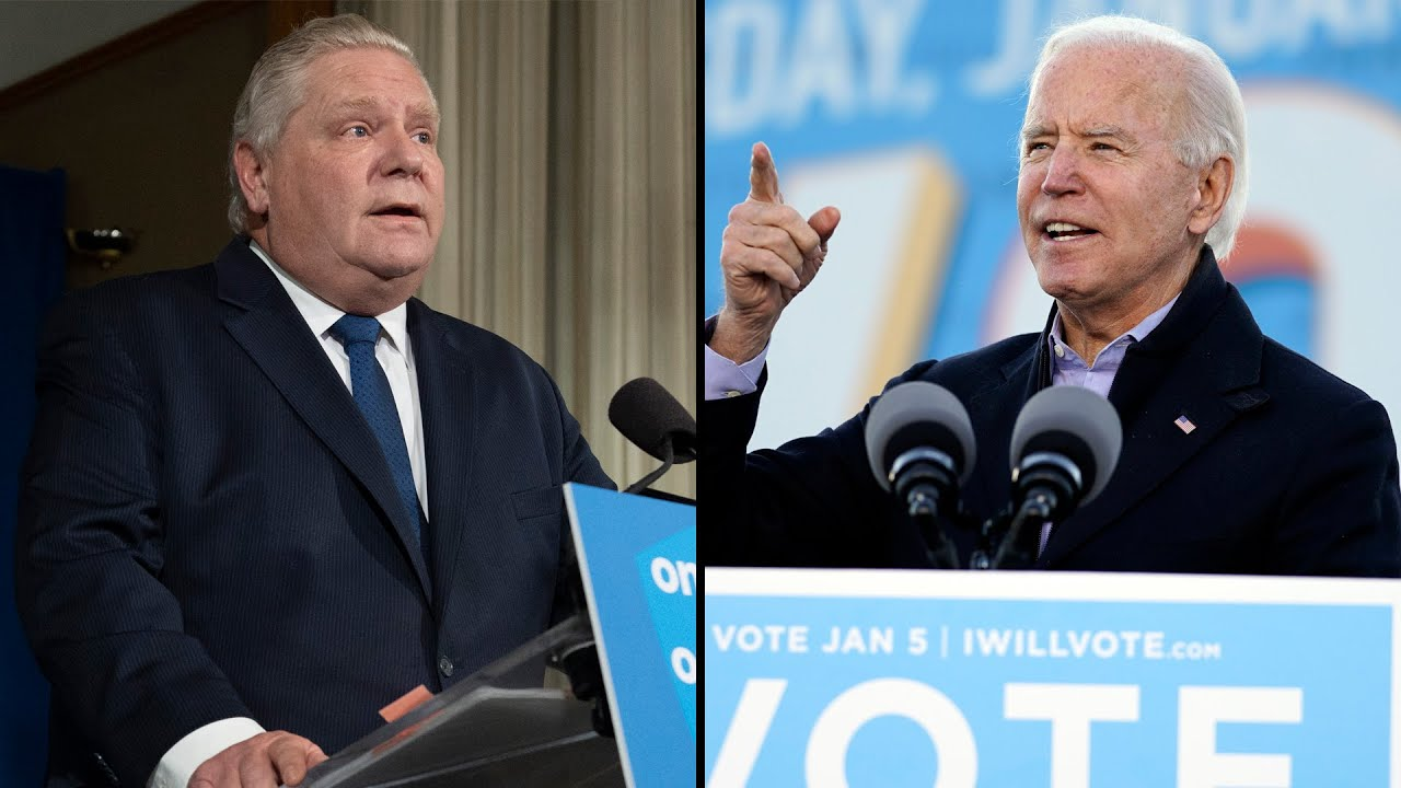 Doug Ford makes public appeal to Joe Biden: 'Give us a million vaccines' 1