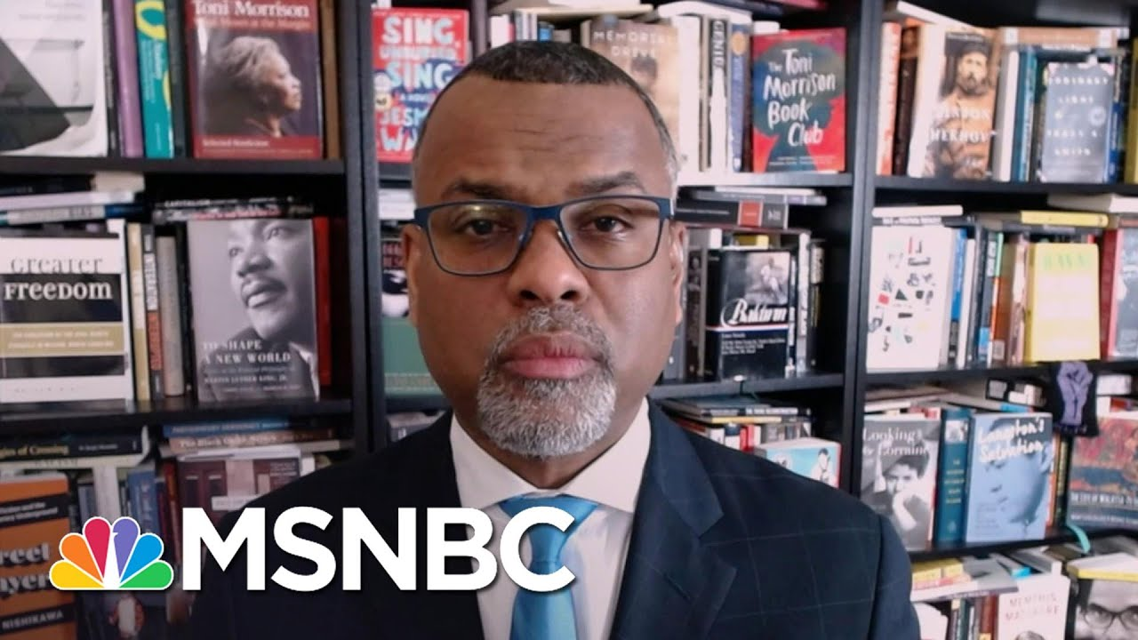 Glaude: Dr. King 'Called Us To Be The Democracy That We Aspire To Be'   The Last Word   MSNBC 1