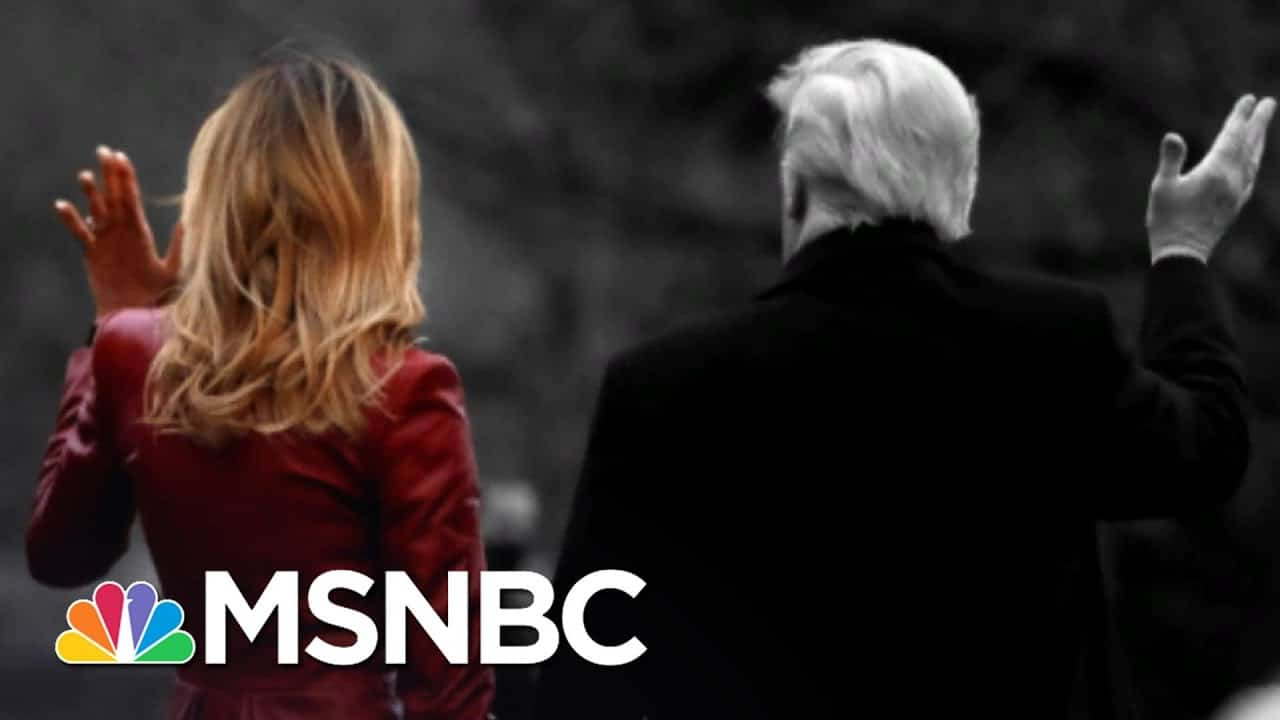 Melania Trump Also Skipping Inauguration And Snubbing Bidens | The 11th Hour | MSNBC 7
