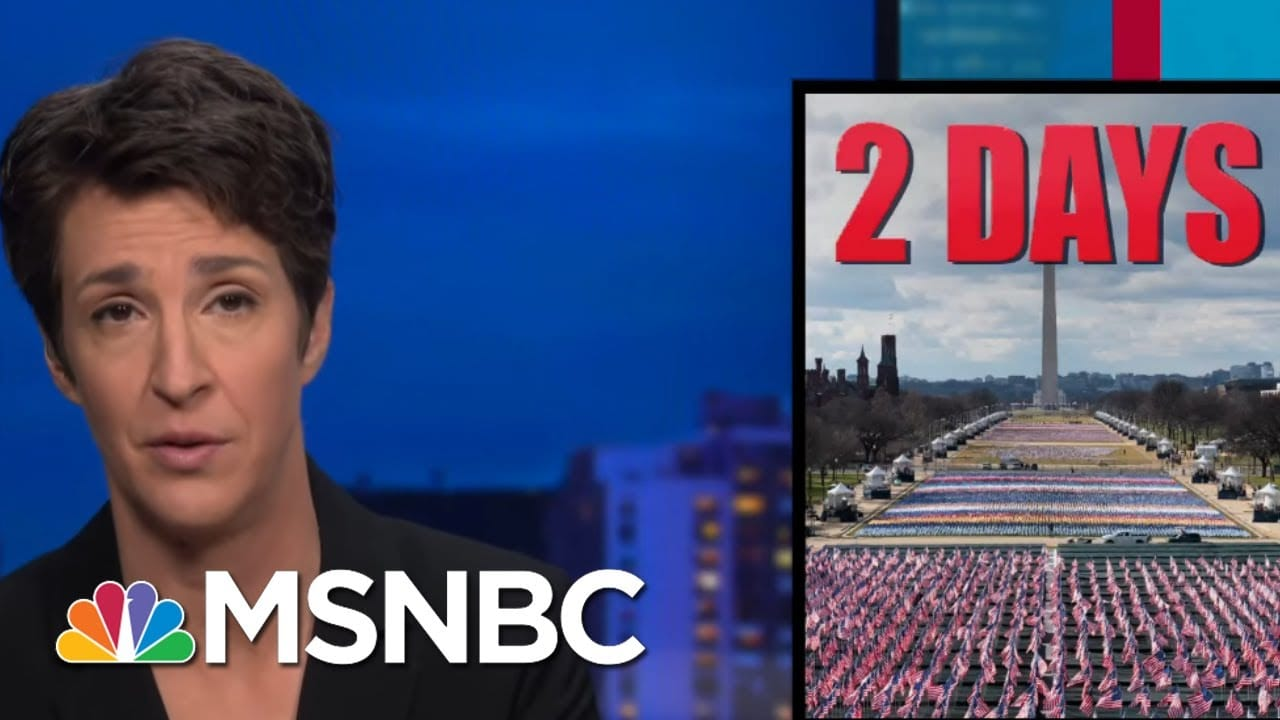 Biden To Waste No Time Implementing New Agenda, Rolling Back Trump | Rachel Maddow | MSNBC 7