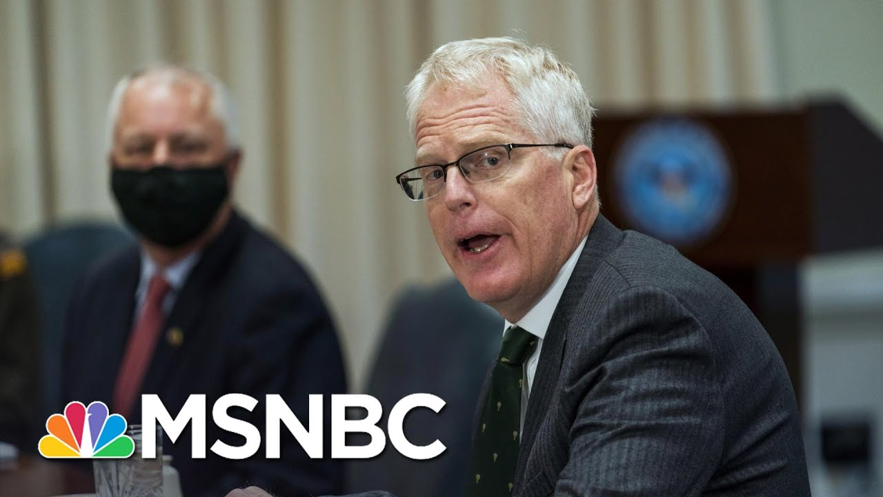 Late Maneuvers By Trump Add Anxious Air To Typically Tranquil Transition | Rachel Maddow | MSNBC 1