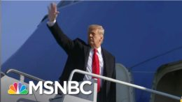 White House Struggling To Assemble Crowd For Trump Send-Off | Rachel Maddow | MSNBC 1