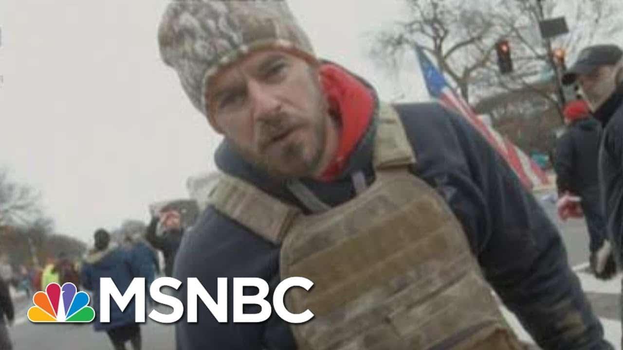 WaPo Producer Describes 'Precarious Situation' At Capitol | Morning Joe | MSNBC 1