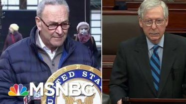 McConnell And Schumer Will Meet To Discuss Power Sharing Agreement For The Senate | Hallie Jackson 6