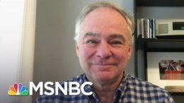 Sen. Kaine On When We Could See An Impeachment Trial Begin   Stephanie Ruhle   MSNBC 7