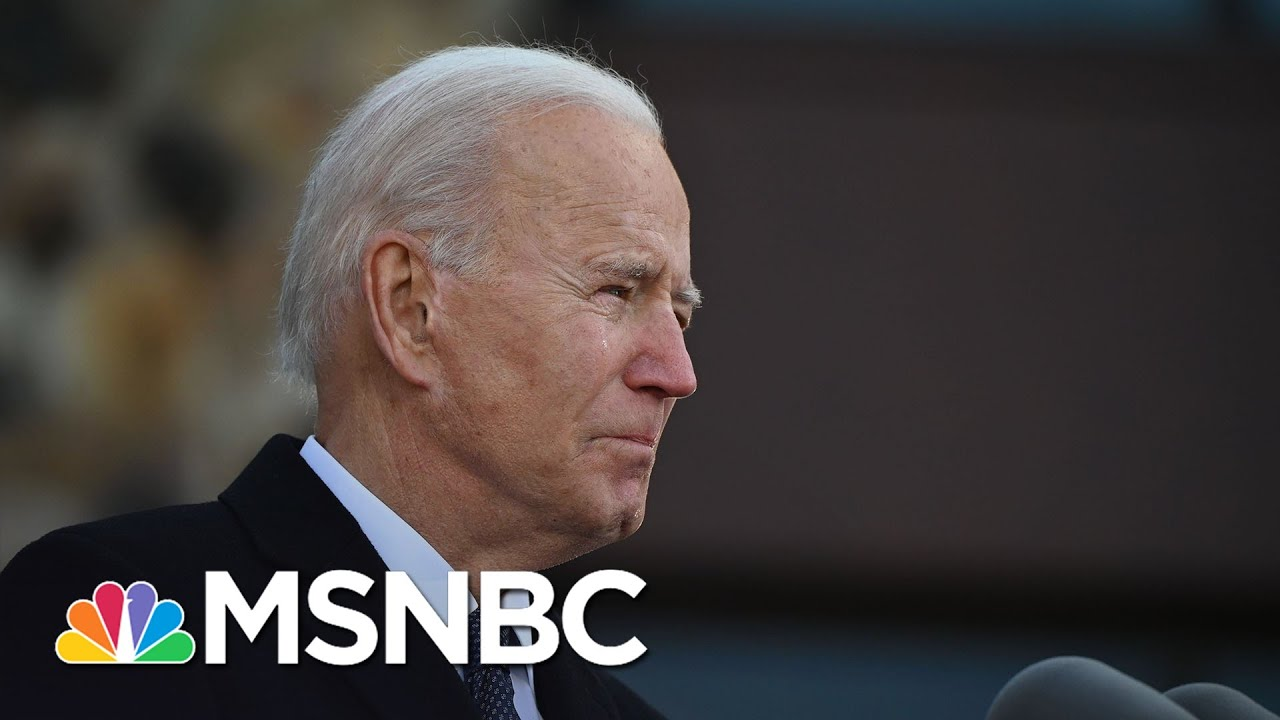 Biden Becomes Emotional As He Leaves For Washington: 'It All Comes From Delaware' | MSNBC 1