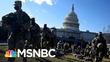 Roughly A Dozen Members Of National Guard Relieved Of Duty Ahead Of Inauguration | MSNBC 6