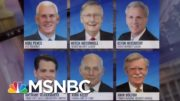 GOP Leaders Cordially Decline Trump's Going Away Party | The ReidOut | MSNBC 3