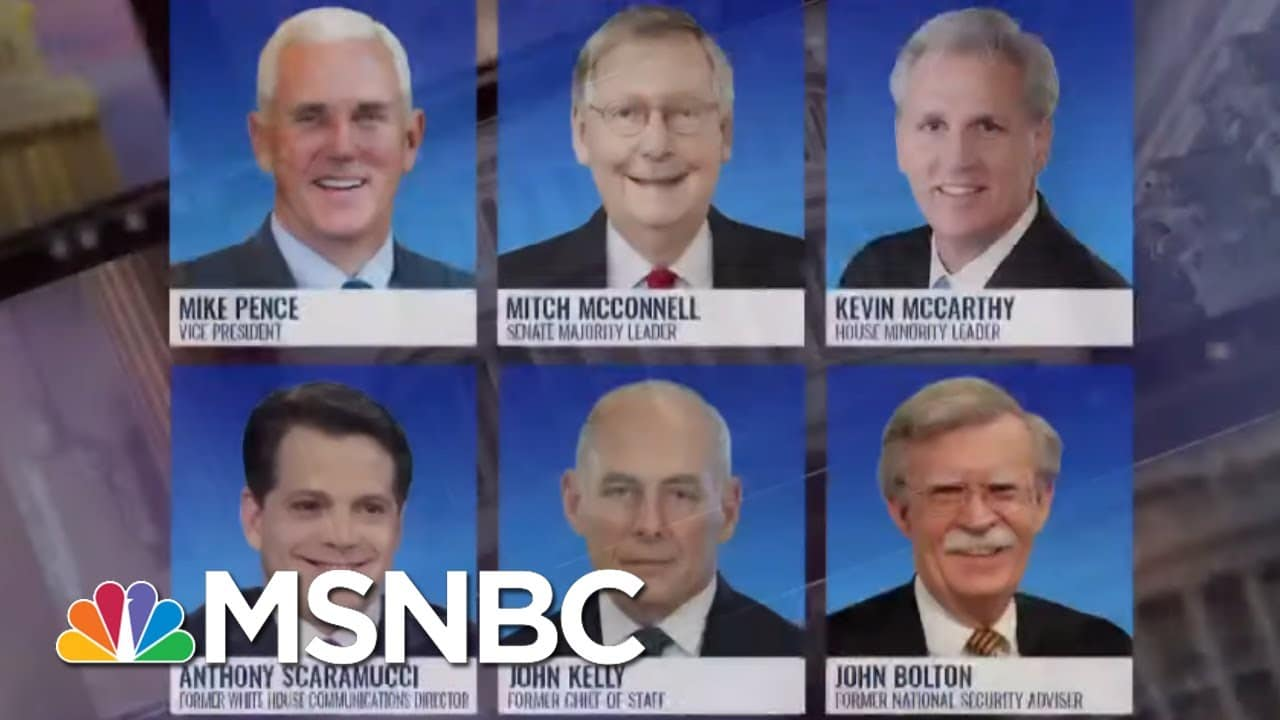 GOP Leaders Cordially Decline Trump's Going Away Party | The ReidOut | MSNBC 5