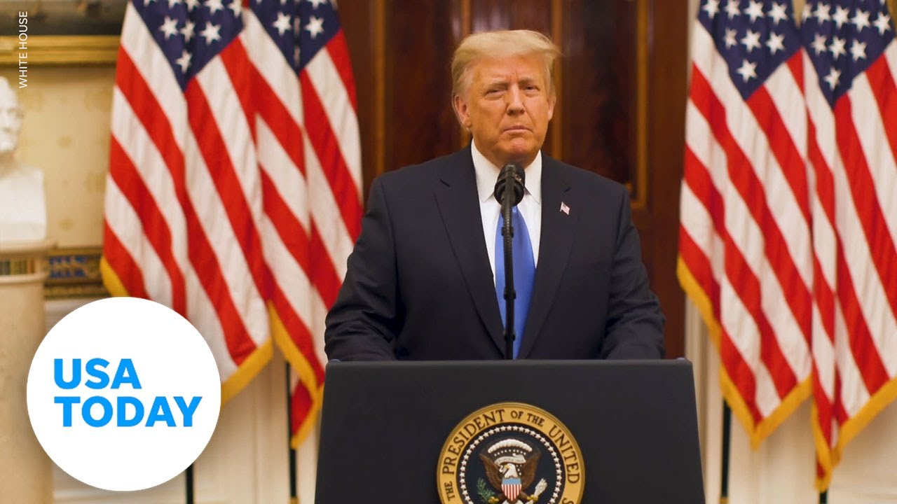 Trump says 'best wishes' to new administration | USA TODAY 5