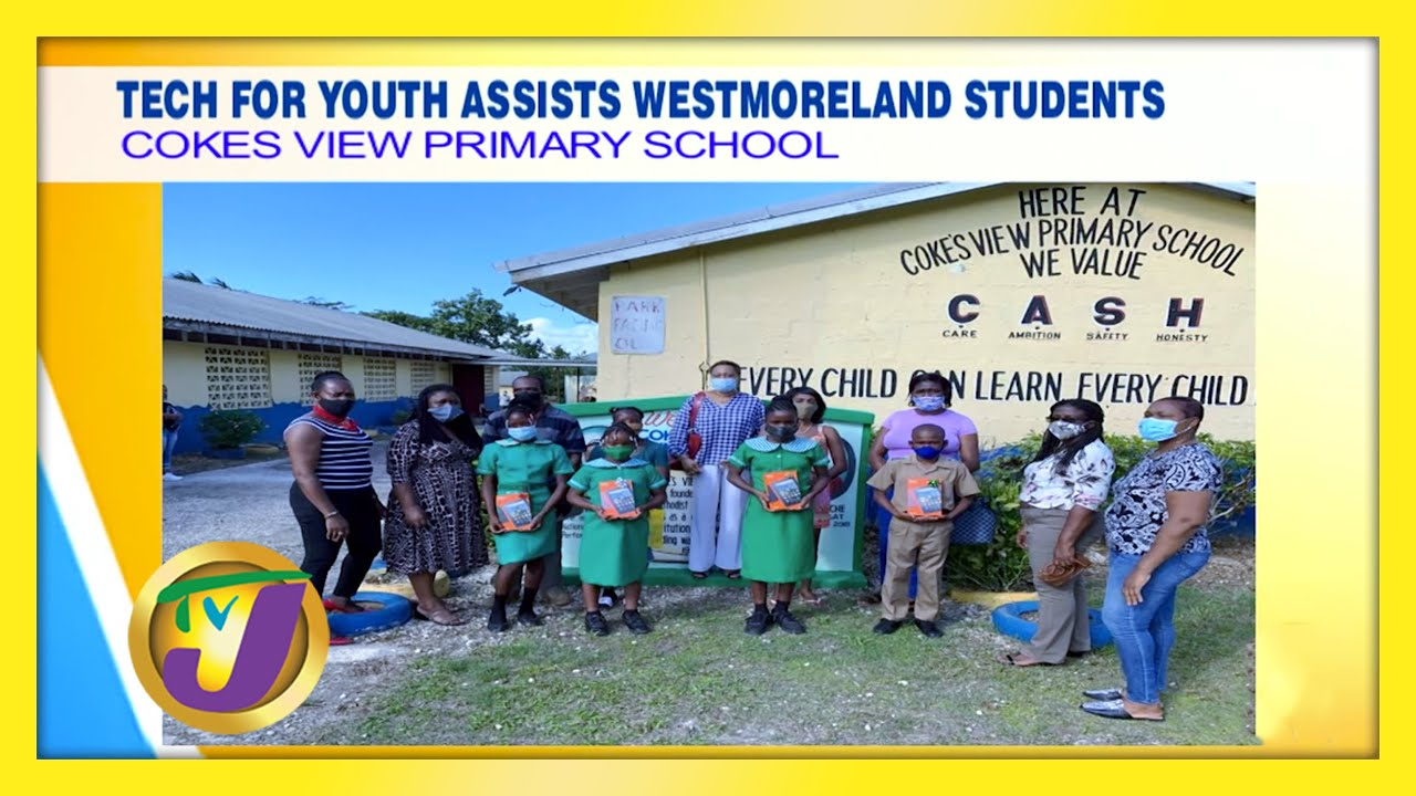 Tech for Youth Assists Westmoreland Students: TVJ Smile Jamaica - January 18 2021 1