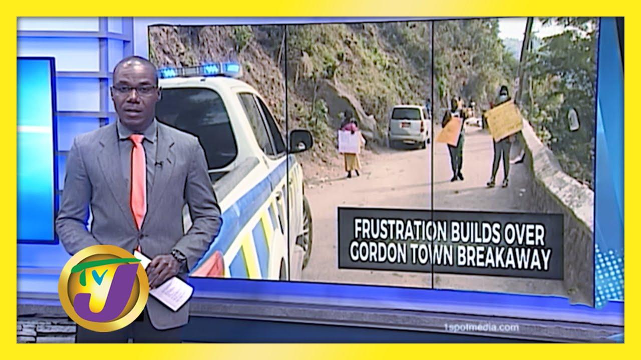 Frustration Grows Over Gordon Town Road Breakaway - January 18 2021 1