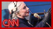 Lady Gaga sings National Anthem at Joe Biden's inauguration 3
