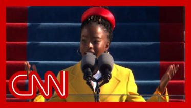 Amanda Gorman recites stunning poem at Biden inauguration 6