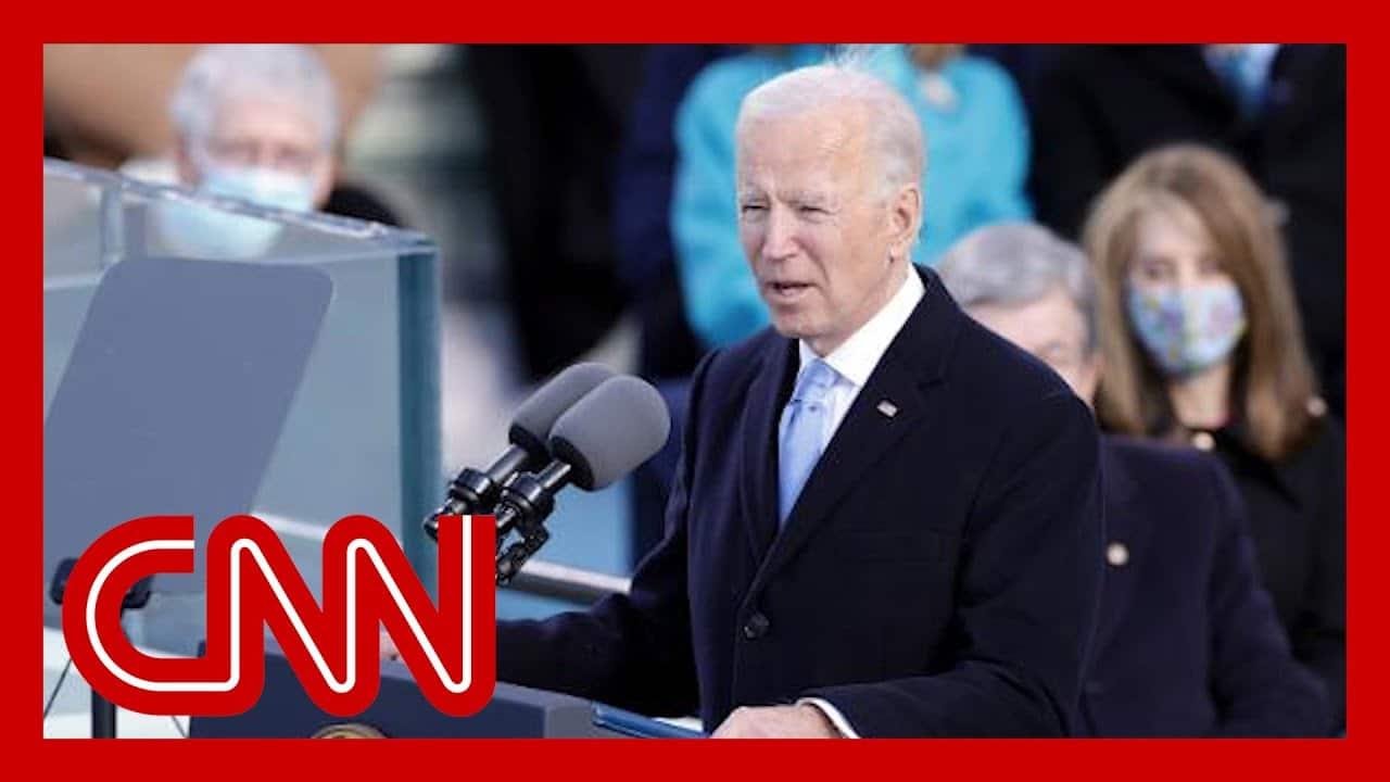Watch President Joe Biden's full inauguration speech 6