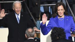 Joe Biden and Kamala Harris sworn into office 3