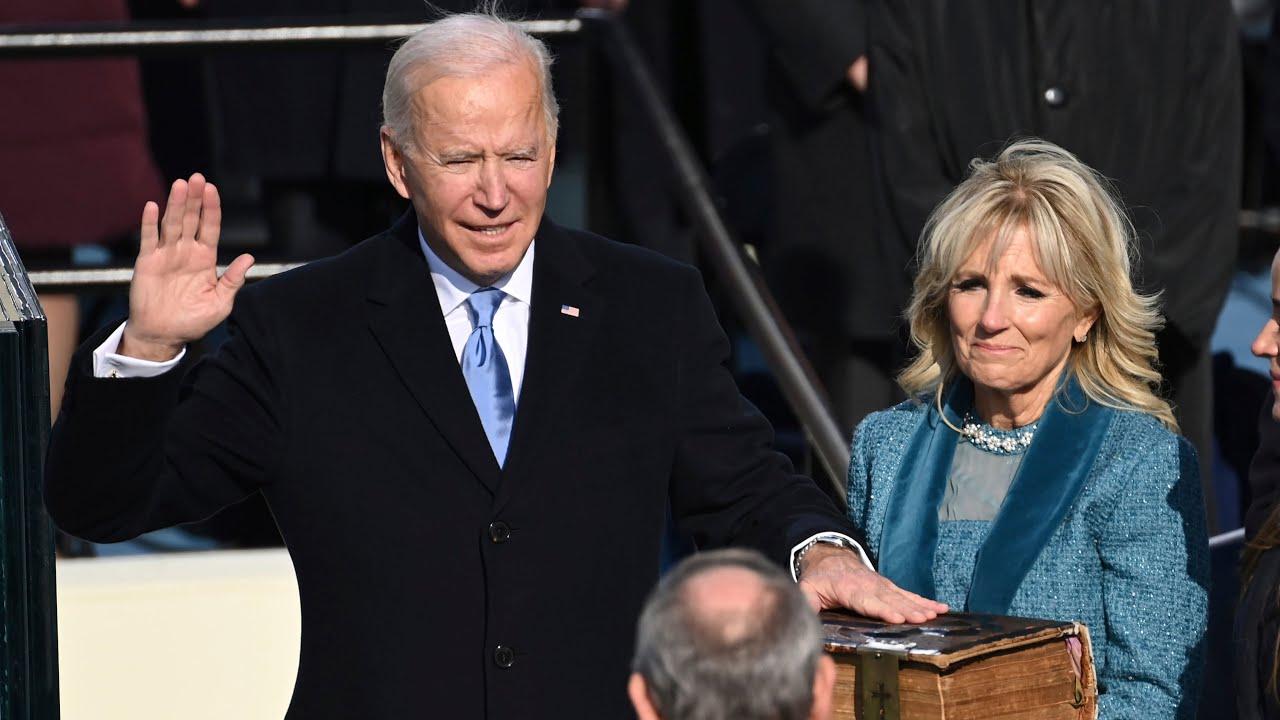 Watch U.S. President Joe Biden's full inauguration speech 6