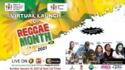 Virtual Launch of Reggae Month - Jamaica February 2021 4