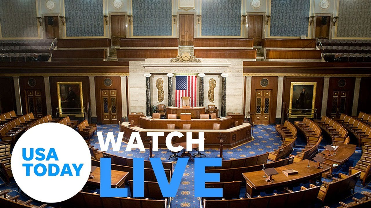 U.S. House to vote on impeachment of President Trump (LIVE) | USA TODAY 1