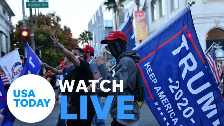 Pro-Trump protesters gather in D.C. as Congress meets to certify Biden's win (LIVE) | USA TODAY 1