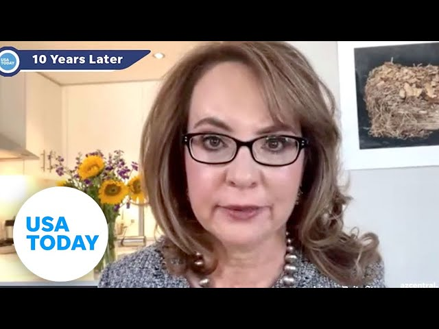 Gabby Giffords on aphasia, enduring 10 years later with Dr. Fabi Hirsch and Karina Bland | USA TODAY 1