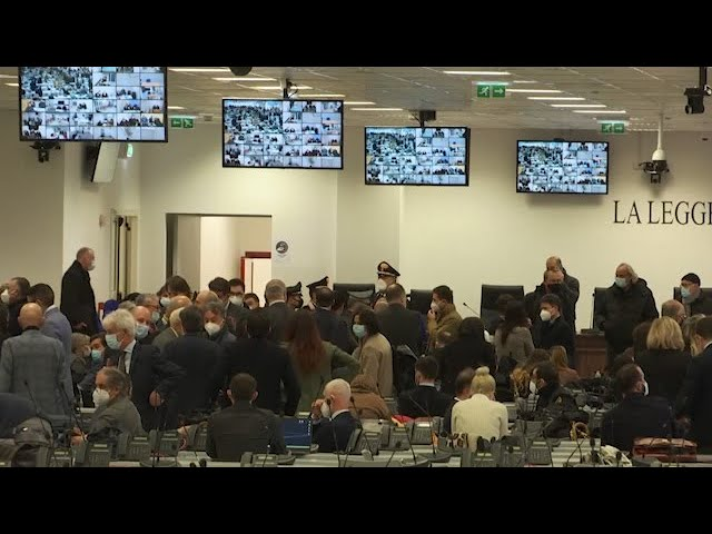 The biggest Mafia trial in decades begins in Italy 1