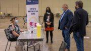 Toronto opens mass vaccination centre at convention centre | COVID-19 3