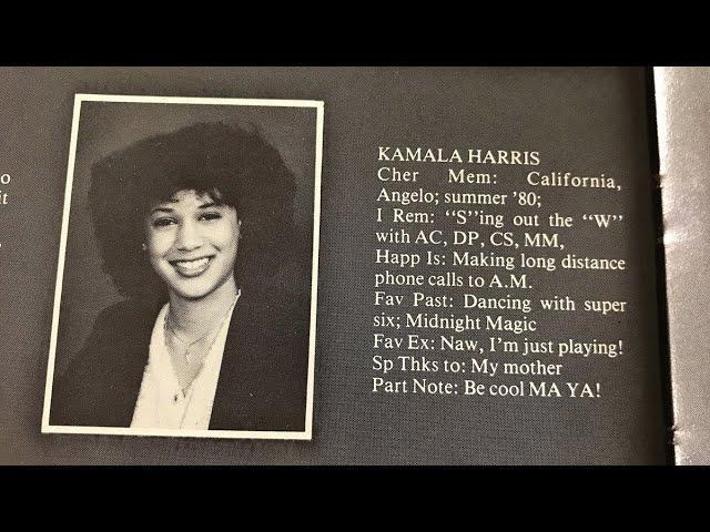 Looking back at Kamala Harris' journey 1
