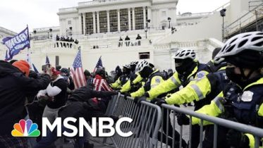 Backers Of 'Law & Order President' Attacked Capitol Police | The 11th Hour | MSNBC 6