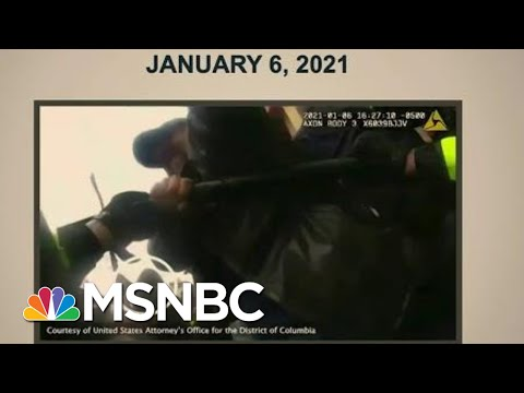 Body Camera Footage Shows Officers Assaulted By Mob On Jan. 6 | Morning Joe | MSNBC 1